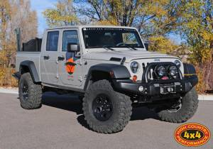"HCP 4x4 Vehicles - 2013 JEEP JK AEV BRUTE DOUBLE CAB AEV 4.5"" DUAL SPORT RS SUSPENSION ON 37"" IROK TIRES AND AEV SAVAGRE WHEELS - Image 3"