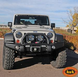 "HCP 4x4 Vehicles - 2013 JEEP JK AEV BRUTE DOUBLE CAB AEV 4.5"" DUAL SPORT RS SUSPENSION ON 37"" IROK TIRES AND AEV SAVAGRE WHEELS - Image 2"