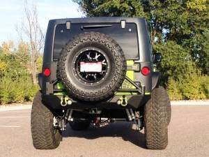 "2013 JEEP JKU TERAFLEX 4"" ELITE LCG LONG FLEXARM SUSPENSION ON 38"" TOYO M/T TIRES AND FUEL KRANK WHEELS"