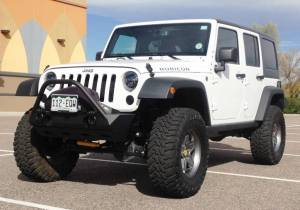 "2014 AEV 3.5"" SC SUSPENSION, 35"" TOYO MT'S, POISON SPYDER BUMPERS"