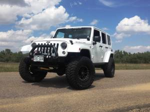 "HCP 4x4 Vehicles - 2014 JEEP JKUR AEV 3.5"" DUAL SPORT SUSPENSION ON 35 TOYO M/T'S WITH ARB BUMPERS & TERAFLEX TIRE CARRIER - Image 2"