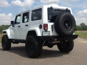 "HCP 4x4 Vehicles - 2014 JEEP JKUR AEV 3.5"" DUAL SPORT SUSPENSION ON 35 TOYO M/T'S WITH ARB BUMPERS & TERAFLEX TIRE CARRIER - Image 7"