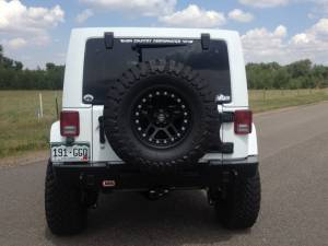 "HCP 4x4 Vehicles - 2014 JEEP JKUR AEV 3.5"" DUAL SPORT SUSPENSION ON 35 TOYO M/T'S WITH ARB BUMPERS & TERAFLEX TIRE CARRIER - Image 8"