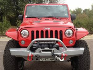 "HCP 4x4 Vehicles - 2014 JEEP JKUR AEV 4.5"" DUAL SPORT RS SUSPENSION ON 37"" BFGOODRICH A/T KO2 TIRES WITH HANSON BUMPERS - Image 3"