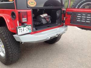 "2014 AEV 4.5"" RS SUSPENSION, 37"" BFG AT KO 2 TIRES, HANSON BUMPERS"