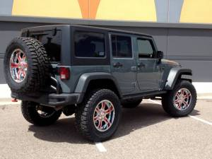 "2014 AEV 4.5"" SUSPENSION 37"" TOYO RT 20"" MOTO METAL WHEELS"