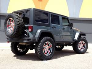 "HCP 4x4 Vehicles - 2014 JEEP JKU AEV 4.5"" DUAL SPORT SUSPENSION ON 37"" TOYO R/T TIRES WITH 20"" MOTO METAL WHEELS - Image 6"