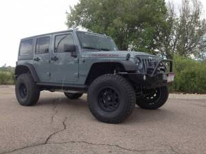 "HCP 4x4 Vehicles - 2015 JEEP JKU AEV 4.5"" RS SUSPENSION ON 37"" BFGOODRICH A/T KO2 TIRES AND XD ENDURO WHEELS WITH RSE FENDERS - Image 4"