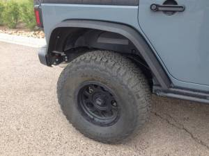 "HCP 4x4 Vehicles - 2015 JEEP JKU AEV 4.5"" RS SUSPENSION ON 37"" BFGOODRICH A/T KO2 TIRES AND XD ENDURO WHEELS WITH RSE FENDERS - Image 6"
