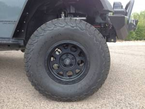 "HCP 4x4 Vehicles - 2015 JEEP JKU AEV 4.5"" RS SUSPENSION ON 37"" BFGOODRICH A/T KO2 TIRES AND XD ENDURO WHEELS WITH RSE FENDERS - Image 7"