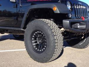 "HCP 4x4 Vehicles - 2016 JEEP JKU AEV 3.5"" DUAL SPORT SUSPENSION ON 35"" BFGOODRICH AT KO2 TIRES AND ATX CORNICE WHEELS - Image 6"