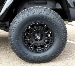"2016 AEV 3.5"" SUSPENSION, 35"" TOYO OPEN COUNTRY AT 2 TIRES"