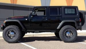 "2016 AEV 4.5"" SUSPENSION, 18X9 XD MONSTER II WHEELS, 37 12.50 18 NITTO TRAIL GRAPPLER TIRES"