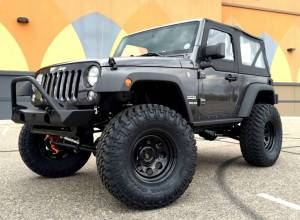 "HCP 4x4 Vehicles - 2016 JEEP JK 2 DOOR SPORT TERAFLEX LONG ARM SUSPENSION ON 37"" NITTO TRAIL GRAPPLERS WITH POISON SPYDER BUMPERS - Image 2"