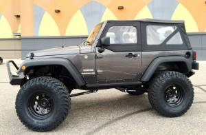 "HCP 4x4 Vehicles - 2016 JEEP JK 2 DOOR SPORT TERAFLEX LONG ARM SUSPENSION ON 37"" NITTO TRAIL GRAPPLERS WITH POISON SPYDER BUMPERS - Image 3"