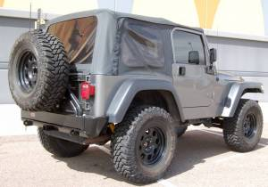 "2000 JEEP WRANGLER TJ OME 2"" SUSPENSION 1"" BODY LIFT 35"" COOPER STT TIRES"