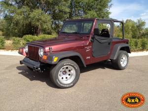 HCP 4x4 Vehicles - 2001 JEEP WRANGLER TJ 2WD 5.9L V8