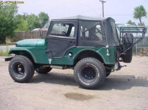 "HCP 4x4 Vehicles - CJ5 W/ 2.5"" BDS LIFT AND GARVIN BUMPER - Image 3"