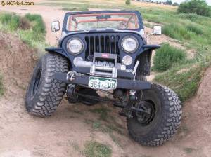 "Jeep - Jeep CJ (1945-1986) - HCP 4x4 Vehicles - CJ7 W/ BDS 4"" LIFT, MORE SHACKLE REVERSAL"