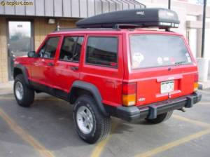 "HCP 4x4 Vehicles - 2000 JEEP CHEROKEE XJ 3"" BDS Suspension"