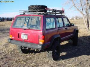 "HCP 4x4 Vehicles - 2001 JEEP CHEROKEE XJ 4.5"" BDS SUSPENSION WITH GARVIN WILDERNESS RACK - Image 2"