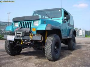 "HCP 4x4 Vehicles - 1989 YJ W/ 2.5"" OME LIFT"