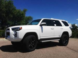 2014 TOYOTA 4RUNNER TOYTEC BOSS SUSPENSION