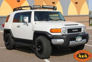 2010 TOYOTA FJ CRUISER WITH RIGID INDUSTRIES LED LIGHTS