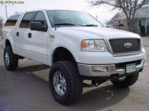 "FORD - FORD F150 TRUCKS (2004-2008) - HCP 4x4 Vehicles - 2005 F150 FABTECH 6"" LIFT"
