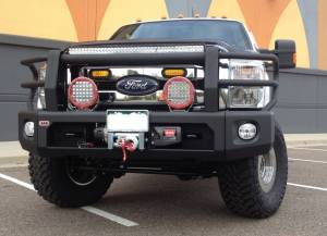 "HCP 4x4 Vehicles - 2015 FORD F350 4.5"" KING COILOVER SUSPENSION (BUILD #67853) - Image 8"