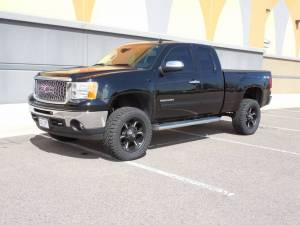 "2012 GMC SIERRA 1500 WITH 4"" BDS SUSPENSION"