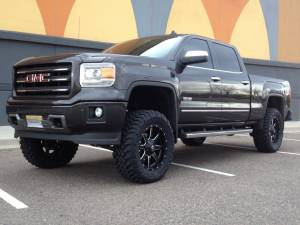 "GMC/Chevrolet - Chevy/GMC 1500 Pickups (2014-2017) - HCP 4x4 Vehicles - 2014 GMC SIERRA 1500 BDS 6"" SUSPENSION LIFT W/ FOX 2.0 SHOCKS"