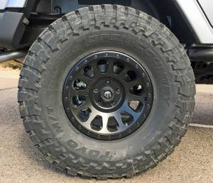 "2017 JEEP JKU HARD ROCK EDITION AEV 4.5"" RS SUSPENSION WITH 37"" TOYO M/T TIRES"