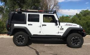 "2016 JEEP JKU HARD ROCK EDITION AEV 2.5 DUAL SPORT SUSPENSION ON 33"" GOODYEAR DURATRACS"