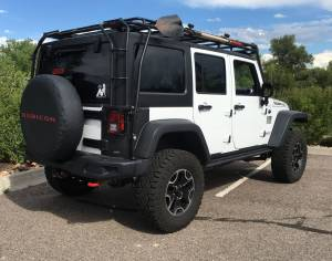"HCP 4x4 Vehicles - 2016 JEEP JKU HARD ROCK EDITION AEV 2.5 DUAL SPORT SUSPENSION ON 33"" GOODYEAR DURATRACS - Image 3"