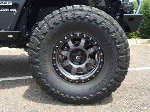 "HCP 4x4 Vehicles - 2016 JEEP JKU AEV 4.5"" SC SUSPENSION ON 37"" TOYO M/T'S & FUEL WHEELS WITH JCR ARMOUR - Image 11"