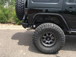 "HCP 4x4 Vehicles - 2016 JEEP JKU AEV 4.5"" SC SUSPENSION ON 37"" TOYO M/T'S & FUEL WHEELS WITH JCR ARMOUR - Image 18"