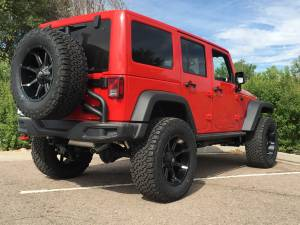 "2016 JEEP JKU HARD ROCK EDITION AEV 3.5"" SC SUSPENSION ON 35"" BFGOODRICH A/T KO2 TIRES"
