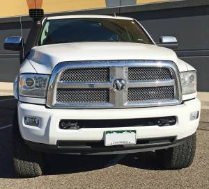 "RAM - DODGE RAM 2500/3500 PICKUP TRUCKS (2014-2018) - HCP 4x4 Vehicles - 2016 RAM 2500 Limited Megacab AEV 3"" Suspension"