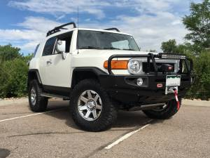 "HCP 4x4 Vehicles - 2014 TOYOTA FJ CRUISER TOYTEC ULTIMATE 3"" SUSPENSION LIFT KIT ARB DELUXE BUMPER - Image 1"