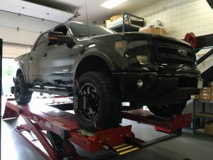 "Ford - Ford F150 2009-2014 - HCP 4x4 Vehicles - 2014 FORD F150 4.5"" SUSPENSION FX4 Ecoboost"