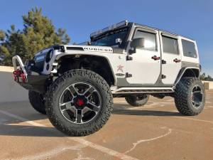 "2015 JKUR STORM TROOP AEV 3.5"" 37"" Nitto Trail Grapplers 20X12 Rockstars"