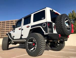 "2015 JEEP JKUR STORM TROOPER AEV 3.5"" DUAL SPORT SUSPENSION ON 37"" NITTO TRAIL GRAPPLER TIRES"