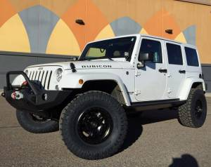 "2017 JEEP JKUR AEV 2.5"" SUSPENSION WITH 35"" NITTO RIDGE GRAPPLERS JCR BUMPERS AND RIGID LIGHTING"