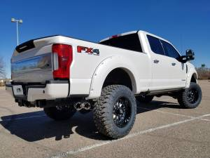 "2017 FORD F350 SUPER DUTY FABTECH MOTORSPORTS 6"" 4-LINK CONVERSION WITH FORGED FUEL OFFROADWHEELS AND TOYO M/T'S (BUILD#78910)"
