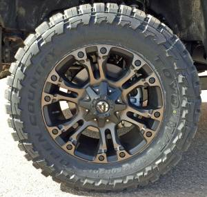 HCP 4x4 Vehicles - 2017 FORD F350 SUPER DUTY READYLIFT LEVELING KIT WTH FUEL OFFROAD WHEELS ON TOYO M/T TIRES (BUILD#79447) - Image 4