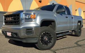 "Chevrolet/GMC - Chevy/GMC 1500 Pickups 2014-2017 - HCP 4x4 Vehicles - 2015 GMC Sierra 1500 Ready Lift 4"" SST. Build #79555"