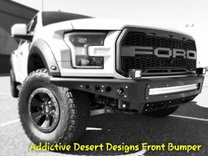 FORD - FORD RAPTOR 2ND GENERATION (2017+) - HCP 4x4 Vehicles - 2017 Ford Raptor Addictive Desert Designs Front and Rear Bumpers with Rigid LED lighting (Build#79601)