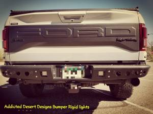 HCP 4x4 Vehicles - 2017 Ford Raptor Addictive Desert Designs Front and Rear Bumpers with Rigid LED lighting (Build#79601) - Image 3