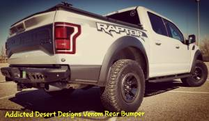 2017 Ford Raptor Addictive Desert Designs Front and Rear Bumpers with Rigid LED lighting (Build#79601)